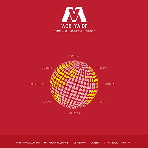 MV Worldwide web development / web design