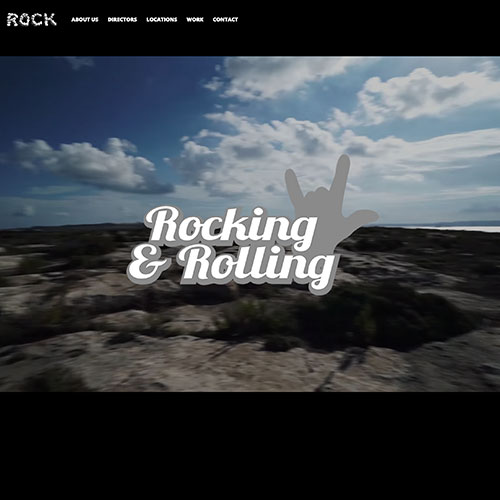 Rock Productions Malta web development / web design