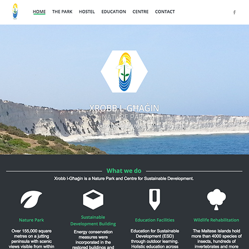 Xrobb l-Ghagin web development / web design
